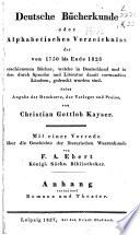 Deutsche bücherkunde: th.] Anhang: Romane und Theater