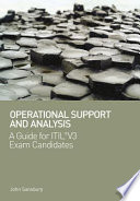 Operational Support and Analysis