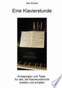 Eine Klavierstunde