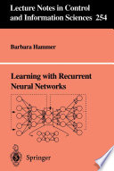 Learning with Recurrent Neural Networks