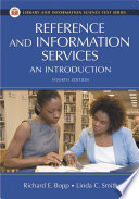 Reference and Information Services  An Introduction  4th Edition