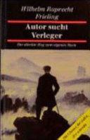 Autor sucht Verleger