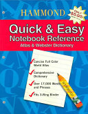 Hammond Quick   Easy Notebook Reference
