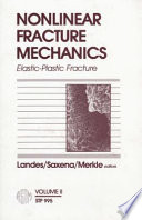 Nonlinear Fracture Mechanics