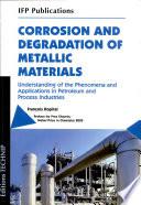 Corrosion and degradatio...