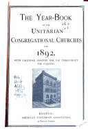 The Year book of the Unitarian Congregational Churches  for