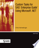 Custom Tasks for SAS Enterprise Guide Using Microsoft  NET