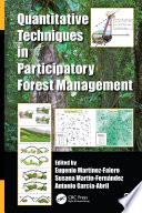 Quantitative Techniques in Participatory Forest Management