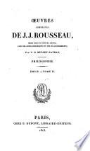 Émile ; Tome II.