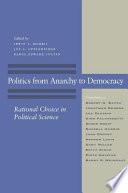 Politics From Anarchy To Democracy