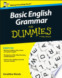 Basic English Grammar For Dummies   UK