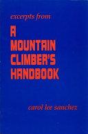 Excerpts from a Mountain Climber s Handbook
