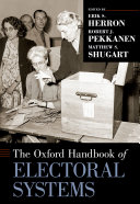 The Oxford Handbook of Electoral Systems