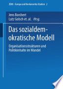 Das sozialdemokratische Modell