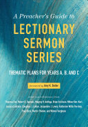 Ebook A Preacher's Guide to Lectionary Sermon Series Epub N.A Apps Read Mobile