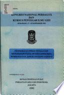 Kongres Nasional PERSAGI IX dan Kursus Penyegar Ilmu Gizi, Semarang, 17-19 Nopember 1992