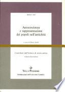 Autocoscienza e rappresentazione dei popoli nell'antichità