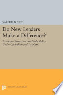 Do New Leaders Make A Difference