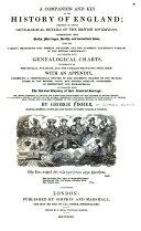 download ebook a companion and key to the history of england pdf epub