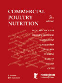 Commercial Poultry Nutrition