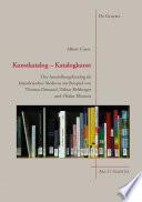 Kunstkatalog - Katalogkunst