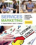 Services Marketing  Concepts  Strategies    Cases