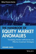 download ebook the handbook of equity market anomalies pdf epub