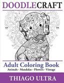 DoodleCraft   Adult Coloring Book