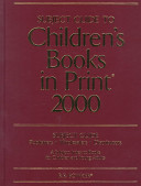 Subject Guide to Children s Books in Print 2000