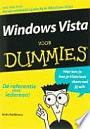 Windows Vista Voor Dummies