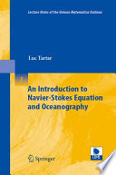 An Introduction to Navier Stokes Equation and Oceanography