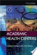 Academic Health Centers