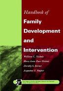 Handbook of family development and intervention