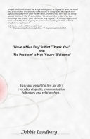 download ebook have a nice day is not thank you, and no problem is not you're welcome pdf epub