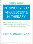 Activities for Adolescents in Therapy