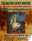 The Braxton County Monster Updated   Revised Edition The Cover up of the    Flatwoods Monster    Revealed Expanded