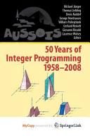 50 Years Of Integer Programming 1958 2008 book
