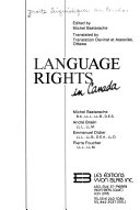 Language Rights in Canada