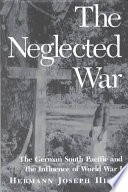 The Neglected War book