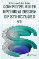 Computer Aided Optimum Design Of Structures Vii book