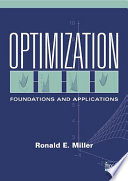 Optimization book