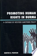 Promoting Human Rights in Burma