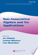 Non Associative Algebra and Its Applications