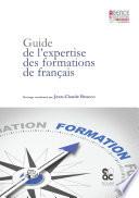 Guide de l'expertise des formations de français