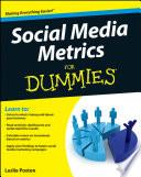 Social Media Metrics For Dummies : media metrics with so many social...