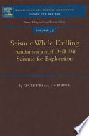 Seismic While Drilling