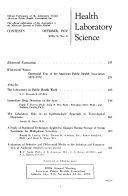 Health Laboratory Science