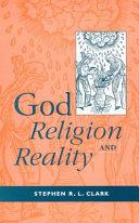 God  Religion and Reality