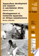 Aquaculture Development and Research in Sub-Saharan Africa Free download PDF and Read online