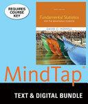 Fundamental Statistics For The Behavioral Sciences Lms Integrated For Mindtap Social Work 12 Month Access